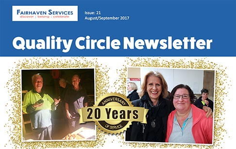 Quality circle newsletter Aug / Sep 2017