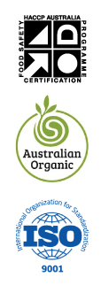 HACCP, Australian Organic, ISO certifications. Pacific CoPack Tuggerah Central Coast NSW.