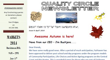 Quality Circle Newsletter – April 2014