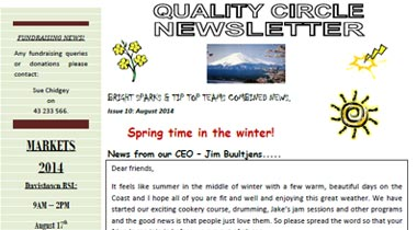 Quality Circle Newsletter – August 2014