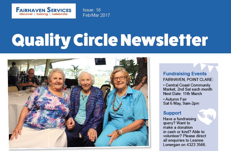Quality Circle Newsletter – February 2017