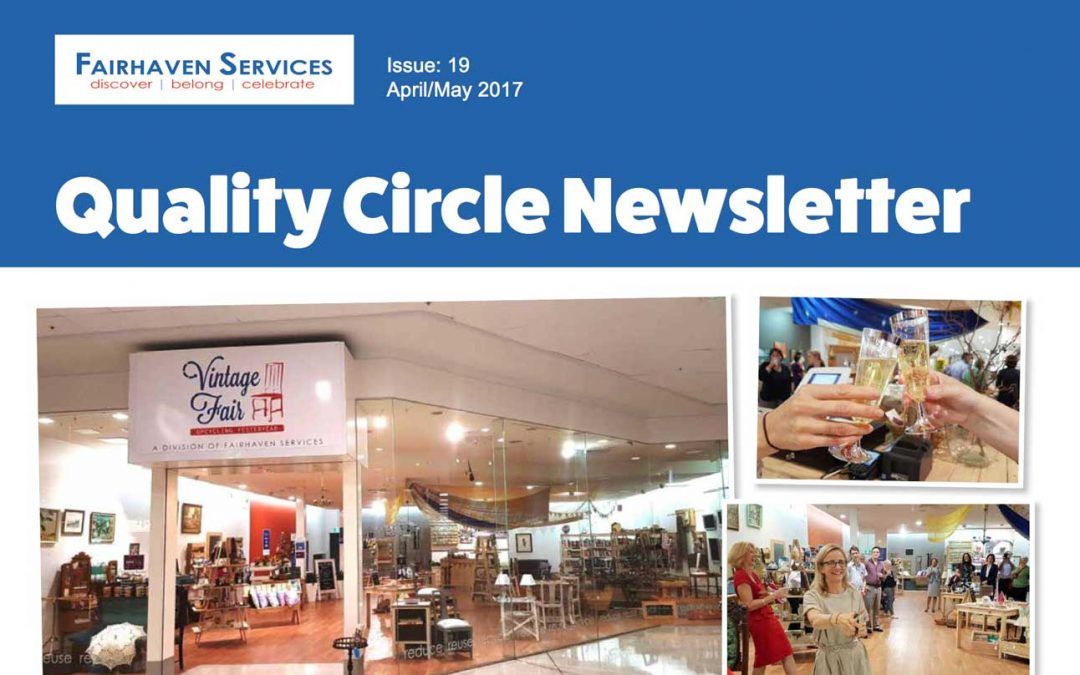 Quality Circle Newsletter – April 2017