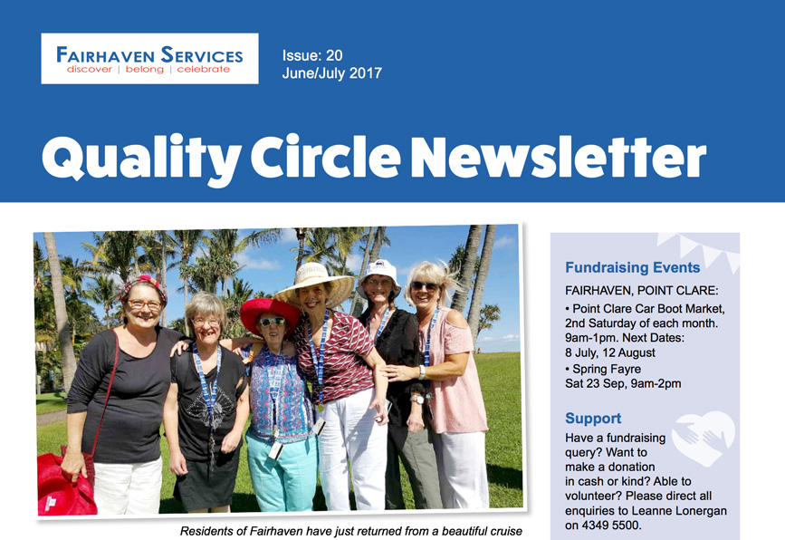 Quality Circle Newsletter – June 2017