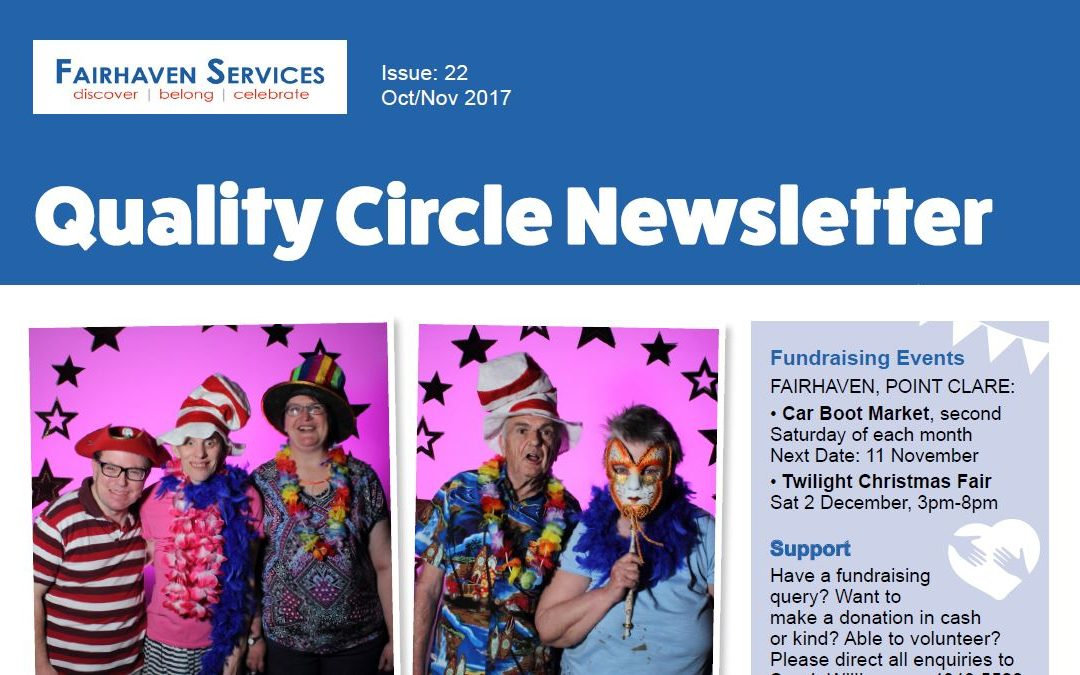 Quality Circle Newsletter – October 2017
