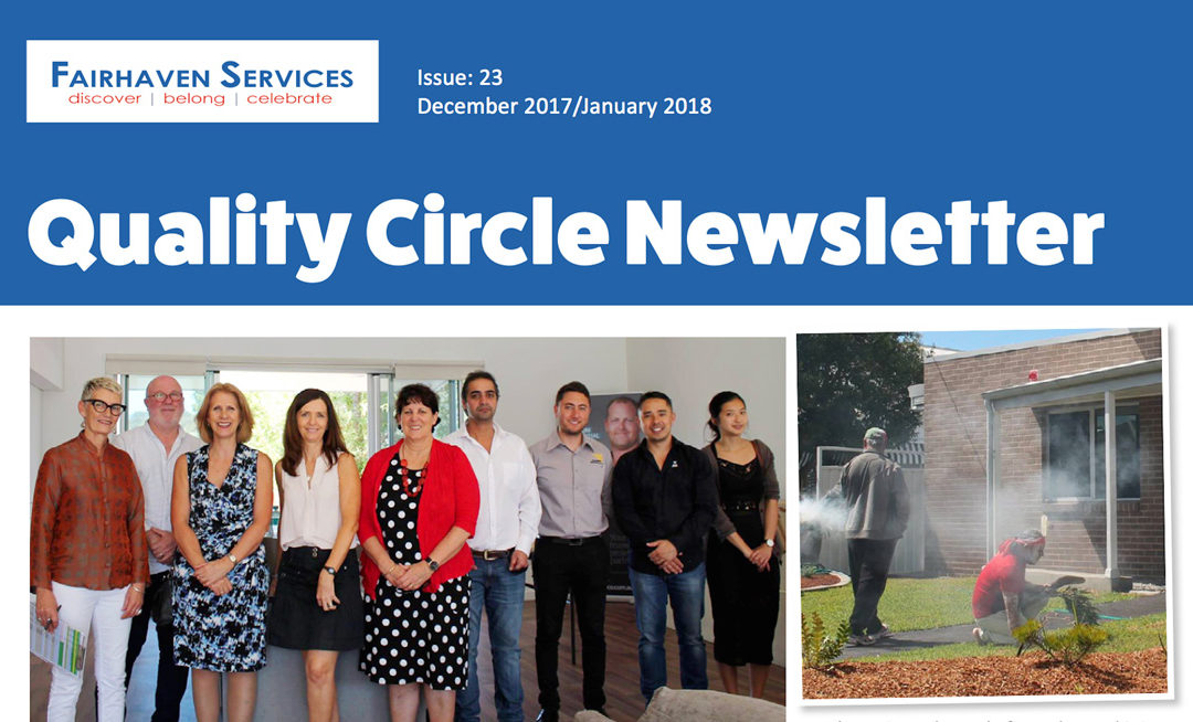 Quality Circle Newsletter – December 2017