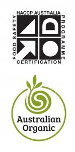 HACCP, Australian Organic logos